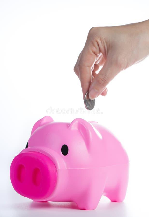 Deposite su dinero imágenes de archivo libres de regalías