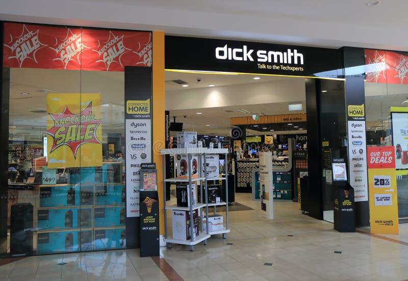 Deposito Australia di elettronica di Dick Smith fotografia stock