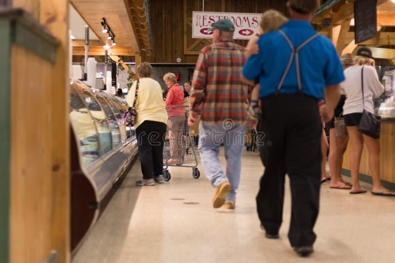 Deposito del mercato di Amish fotografia stock