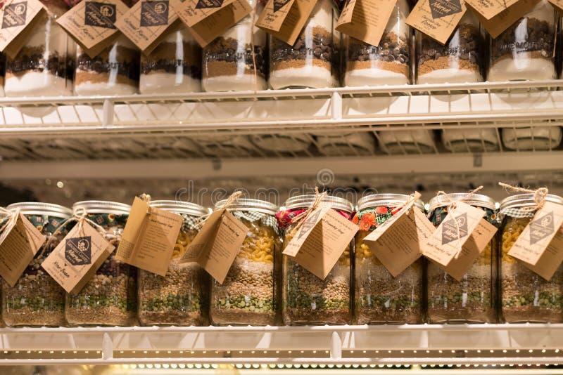 Deposito del mercato di Amish fotografia stock libera da diritti