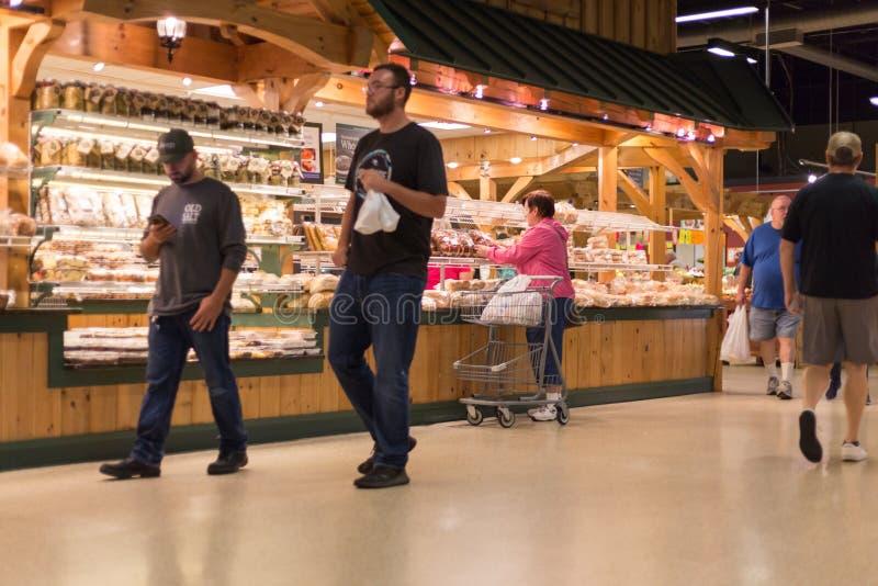 Deposito del mercato di Amish fotografie stock libere da diritti