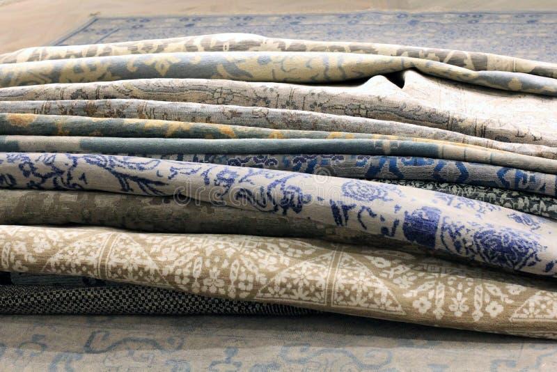 Deposito del tappeto immagini stock libere da diritti
