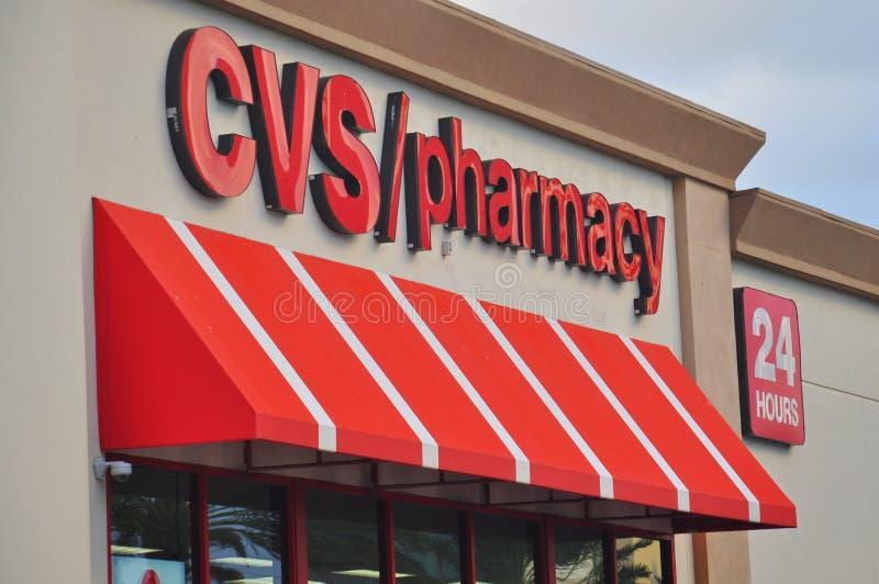 Deposito della farmacia di CVS immagini stock