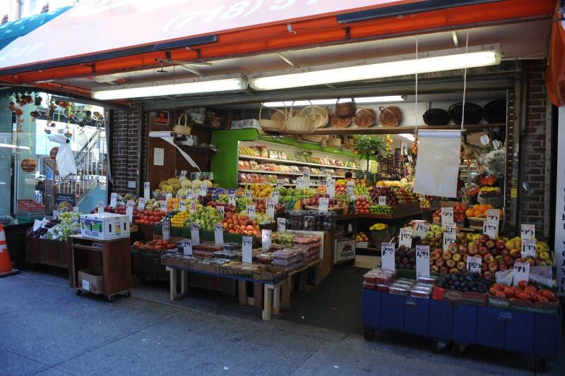 Deposito della frutta a Brooklyn fotografia stock
