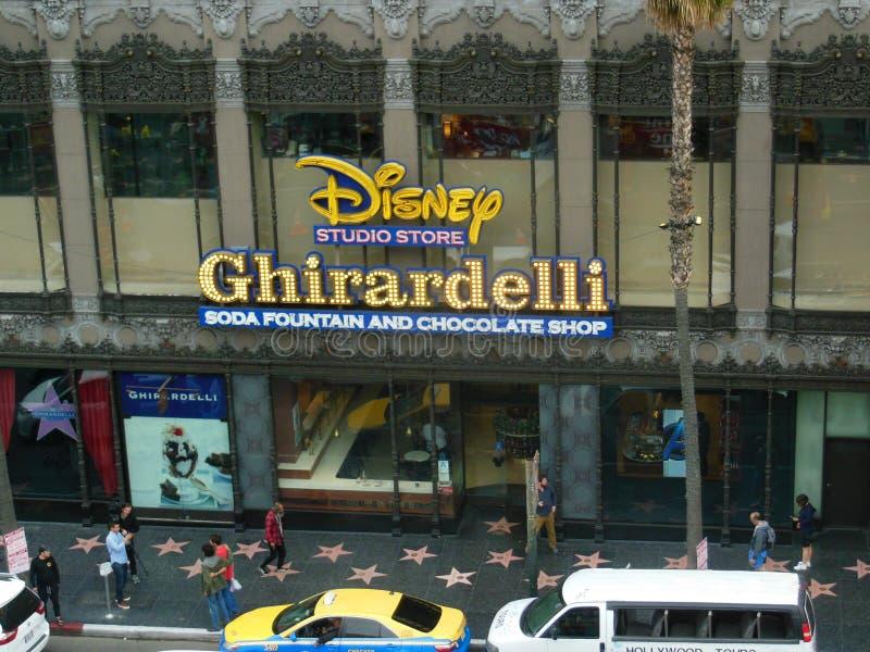 Deposito dello studio di Disney a Hollywood, California fotografia stock libera da diritti