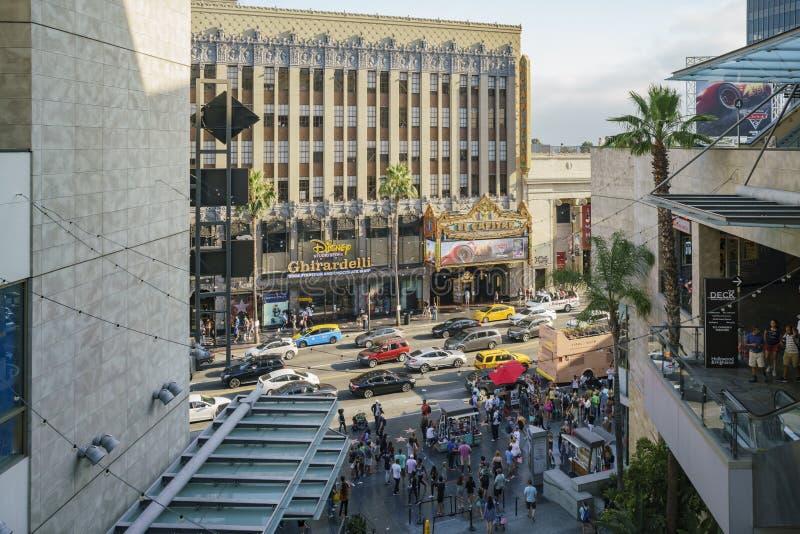 Deposito dello studio di Disney nell'area famosa di Hollywood fotografie stock libere da diritti