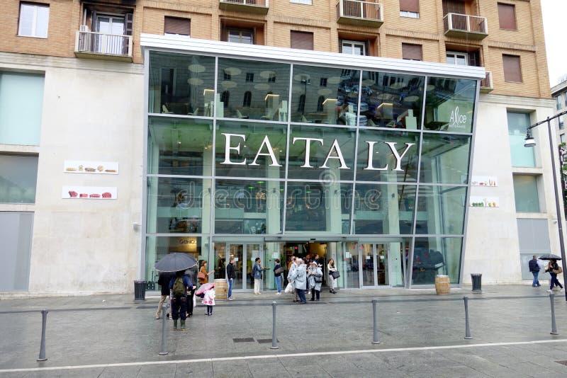 Deposito di Eataly immagini stock