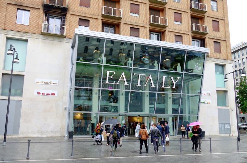 Deposito di Eataly immagini stock libere da diritti