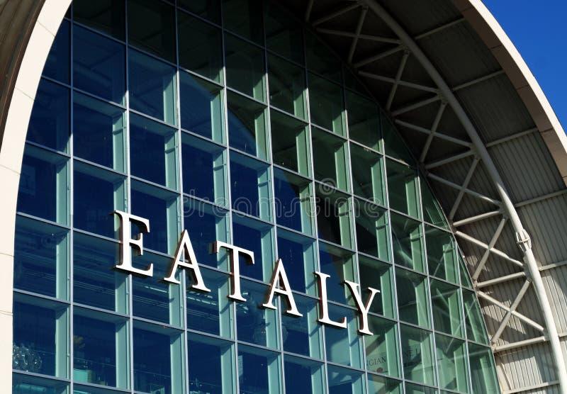 Deposito di Eataly fotografia stock libera da diritti