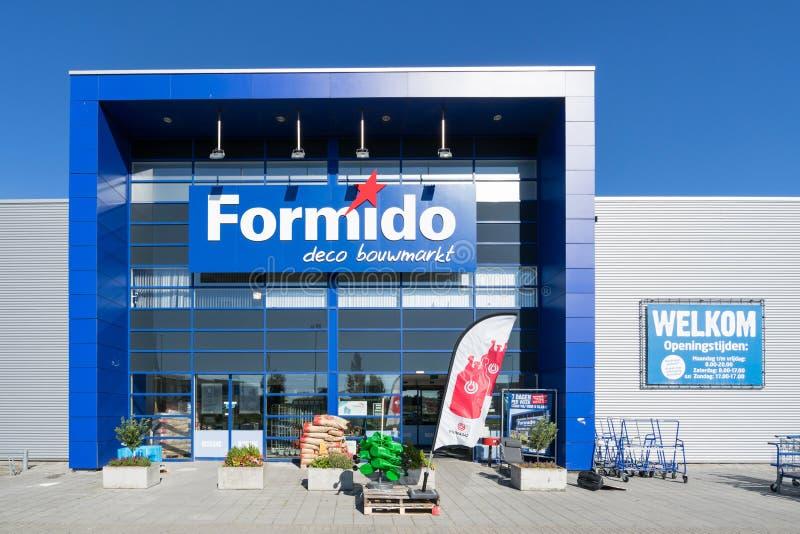 Deposito di Formido in Vierspolders, Paesi Bassi immagine stock libera da diritti