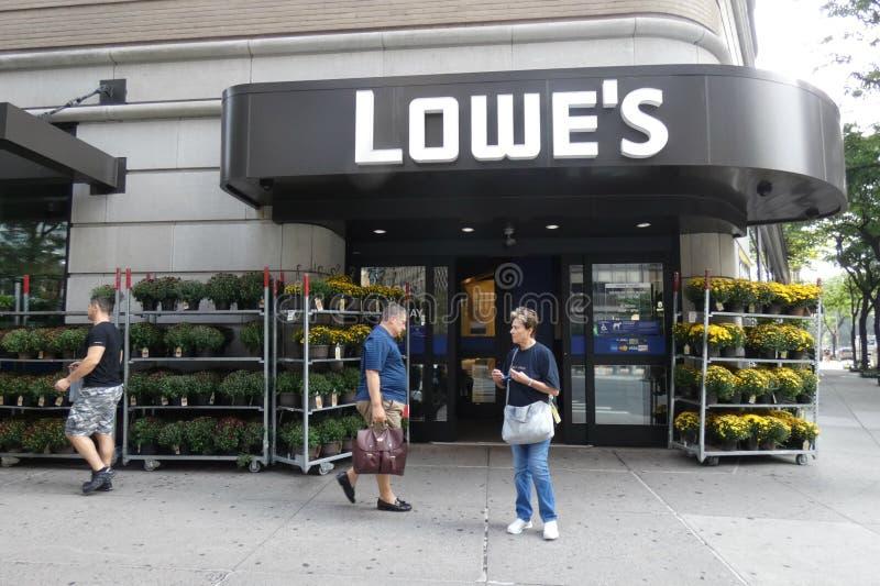 Deposito di Lowes immagini stock
