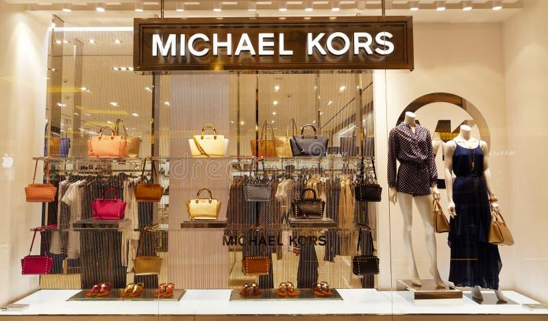 Deposito di Michael Kors a Roma, Italia fotografia stock libera da diritti