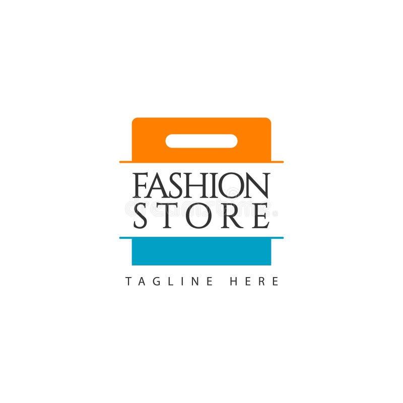 Deposito Logo Vector Template Design Illustration di modo illustrazione di stock