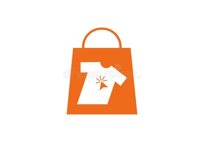 Deposito online, logo online di compera royalty illustrazione gratis