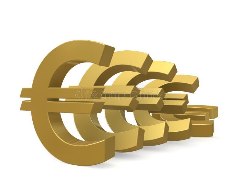 Download Depreciation Of The Euro Royalty Free Stock Photos - Image: 19912178