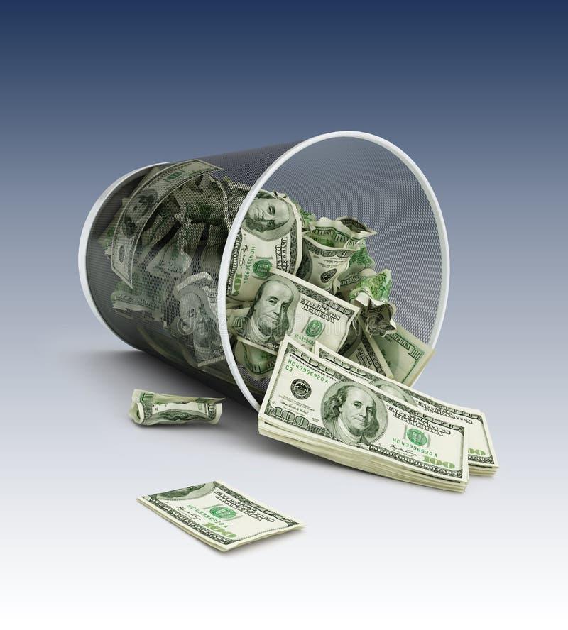 deprecjacja pieniądze obrazy royalty free