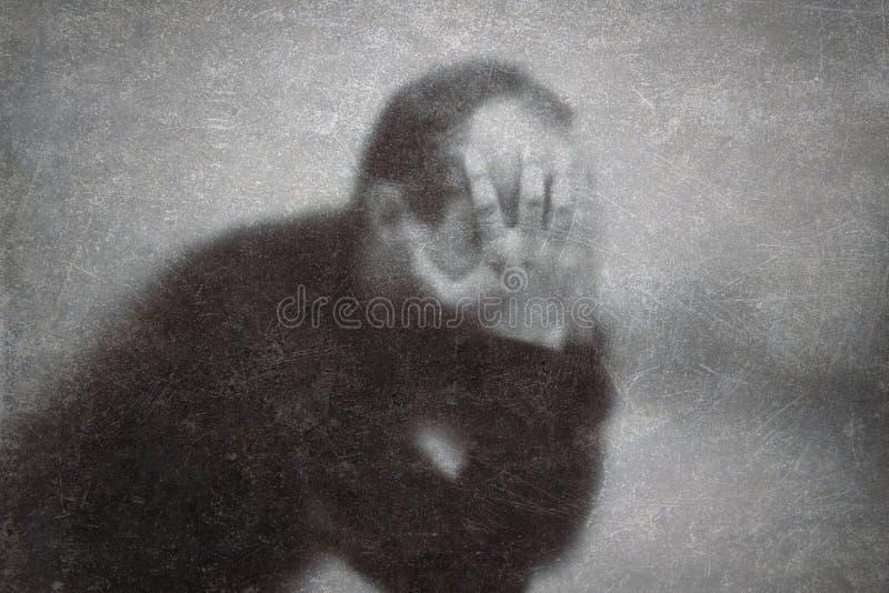 depresión fotografía de archivo libre de regalías