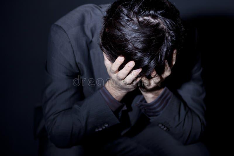 depresja mężczyzna zdjęcie royalty free
