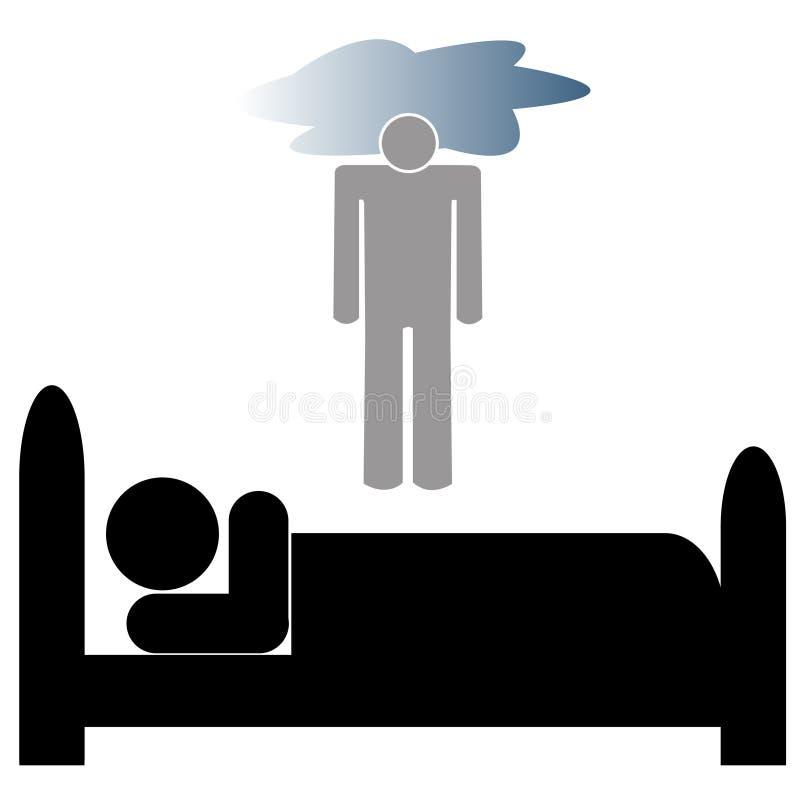 Depressão ilustração do vetor