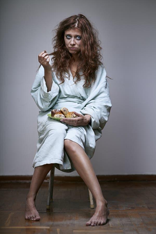 Depressão Da Mulher Fotos de Stock Royalty Free