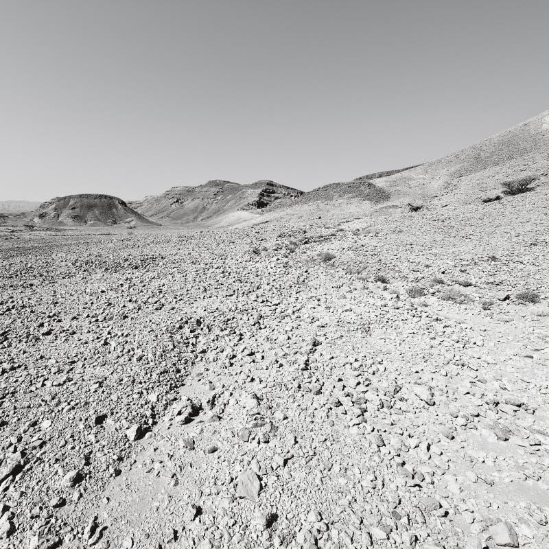Depressão e vazio em preto e branco imagem de stock