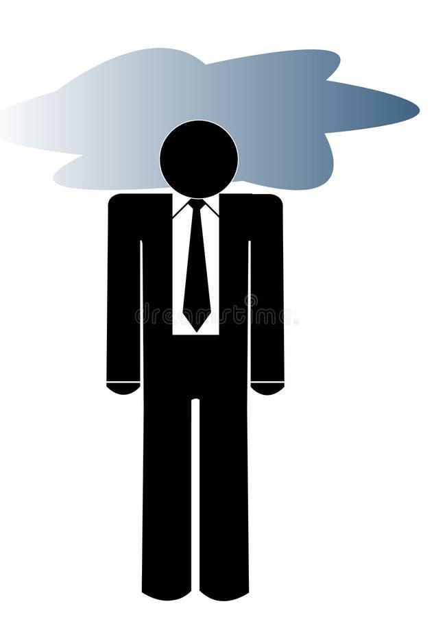 Download Depressed business man stock vector. Image of bankrupt - 6185933