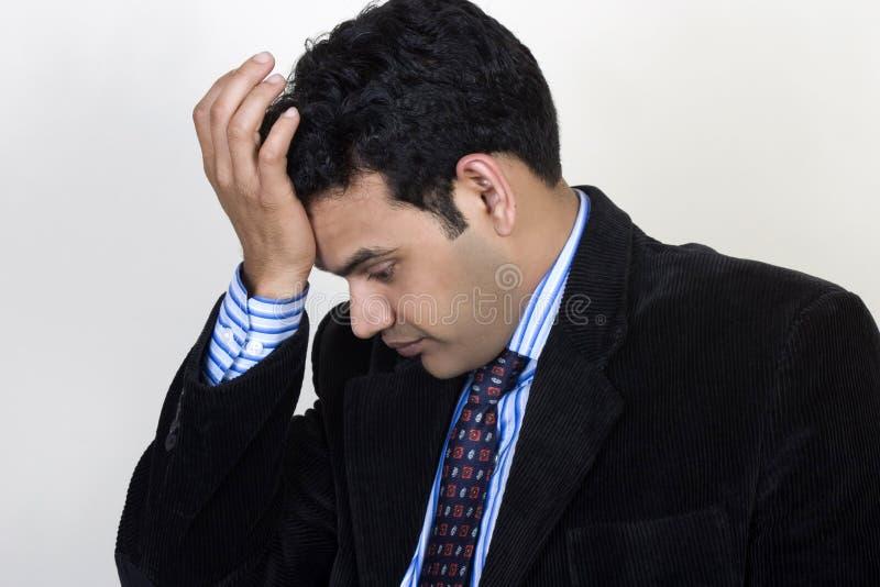 Download Depressed Businessman stock image. Image of expression - 15921797