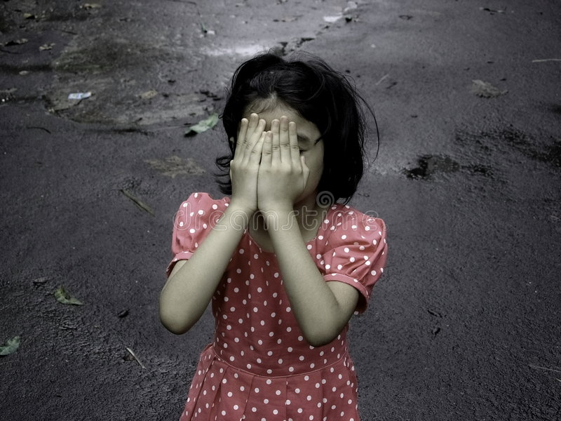 Download Depressed Child stock photo. Image of guilt, silent, extreme - 3934584