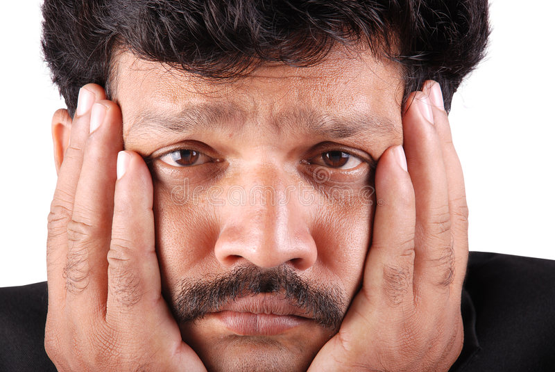 Download Depressed man stock image. Image of dissolve, pressure - 5986033