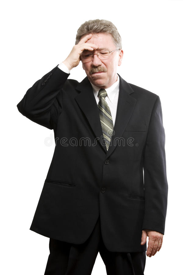 Download Depressed Older Business Man Stock Photo - Image of suit, depression: 10422414