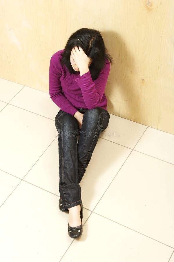 Depressed Teenager Stock Image