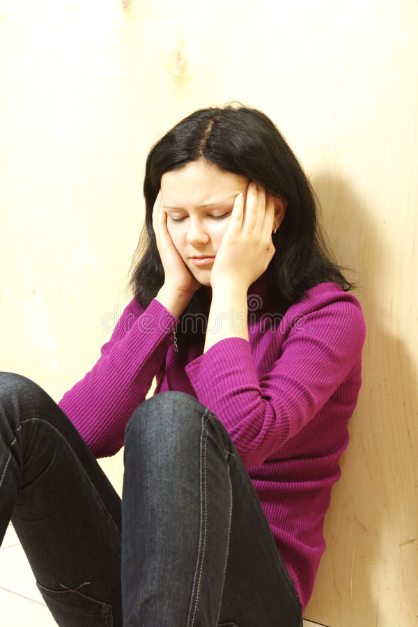 Download Depressed Teenager Stock Photography - Image: 7786752