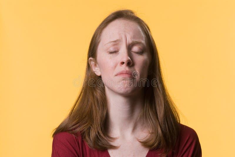 Depressed Woman-02 Stock Image