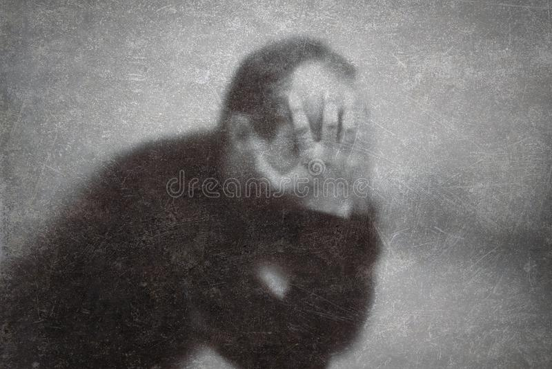 depressie royalty-vrije stock fotografie