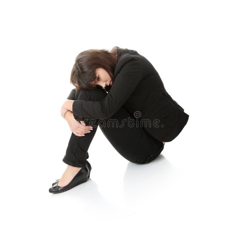 Depressie royalty-vrije stock foto's