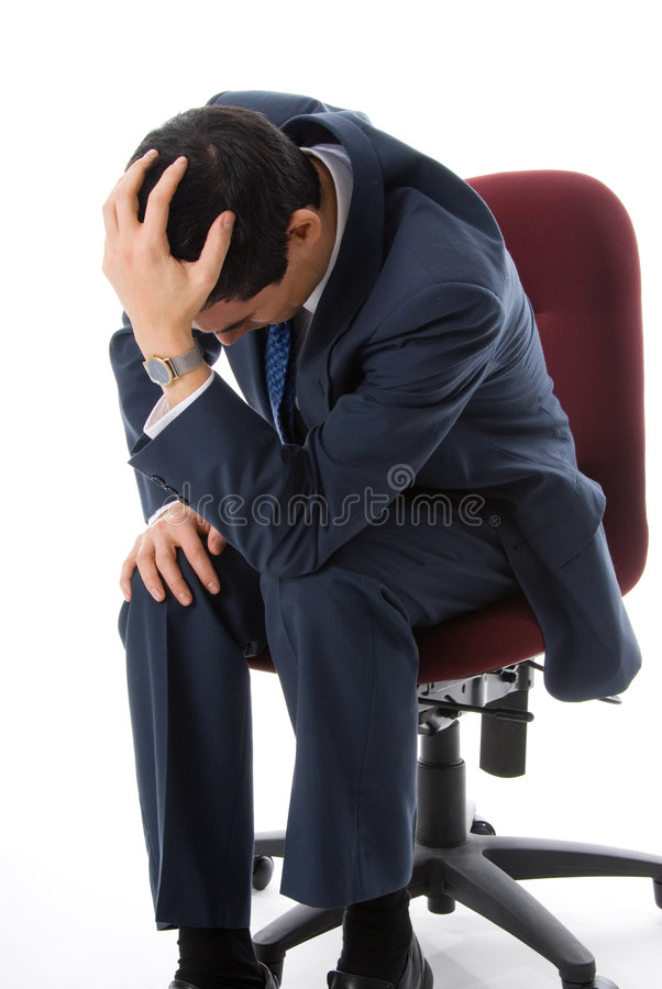 Depressie stock afbeelding