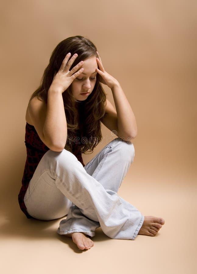 Depressie & Droefheid stock afbeeldingen