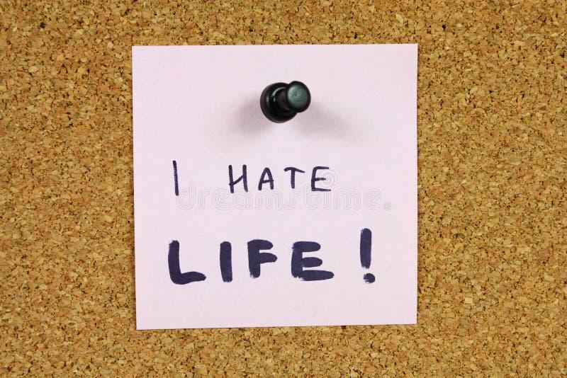 Download Depression stock photo. Image of handwriting, cork, handwritten - 10061754