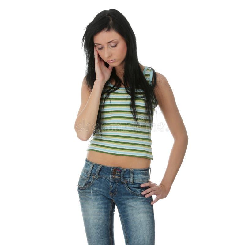 Download Depression stock photo. Image of female, beautiful, illness - 12682760
