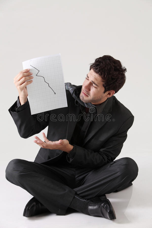 Depression stock photography