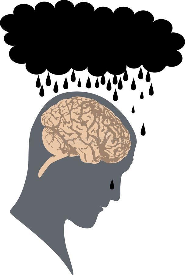 Download Depression stock illustration. Illustration of prayer - 3347655