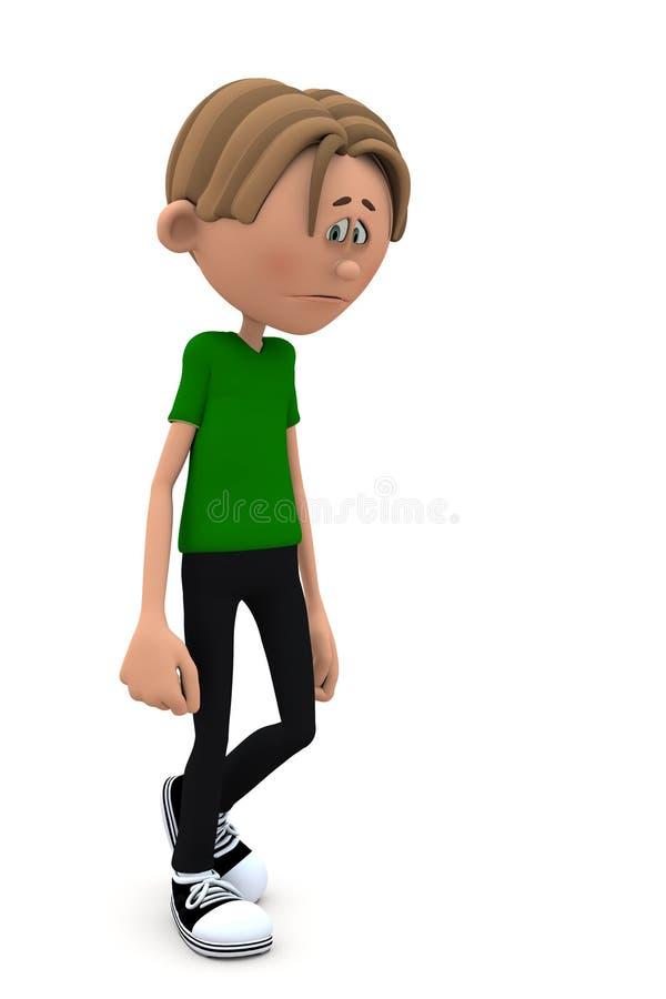 Download Depression Kid stock illustration. Illustration of child - 22067490