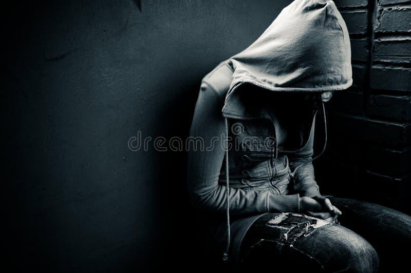 Depressione fotografie stock