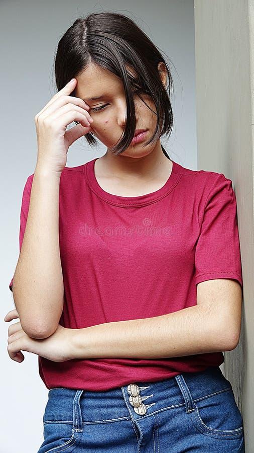 Download Deprimerad ung person fotografering för bildbyråer. Bild av emotionellt - 106829603