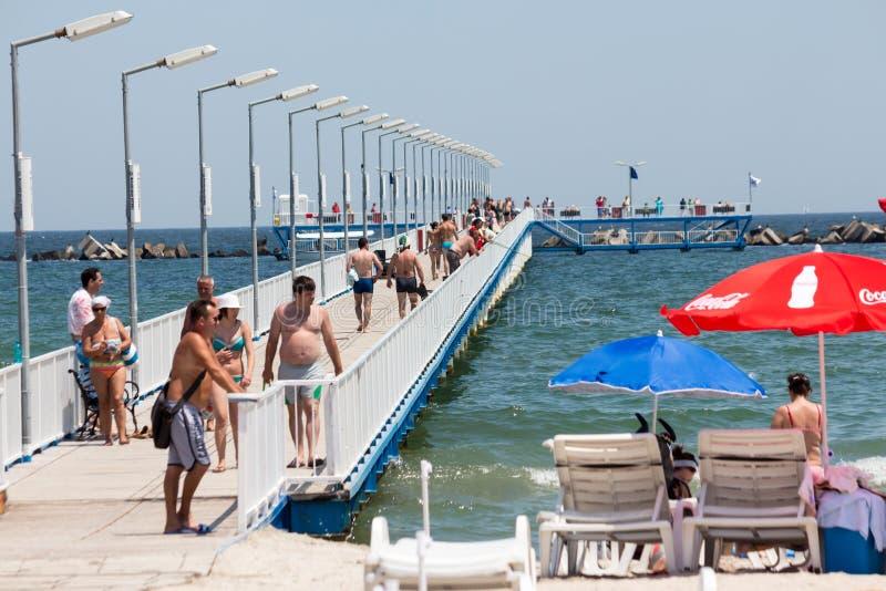 Deptaka most zdjęcia stock