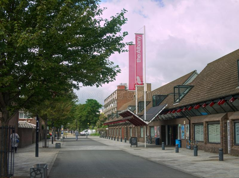 Deptford Albany, Local Community Centre, London, United Kingdom royalty free stock images