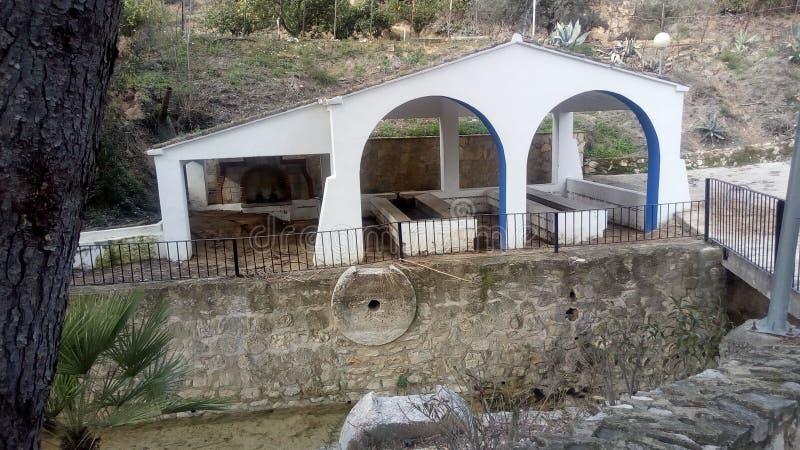 Depurador antiguo de Benisoda y de x28; Valencia& x29; y x28; Spain& x29; imagen de archivo