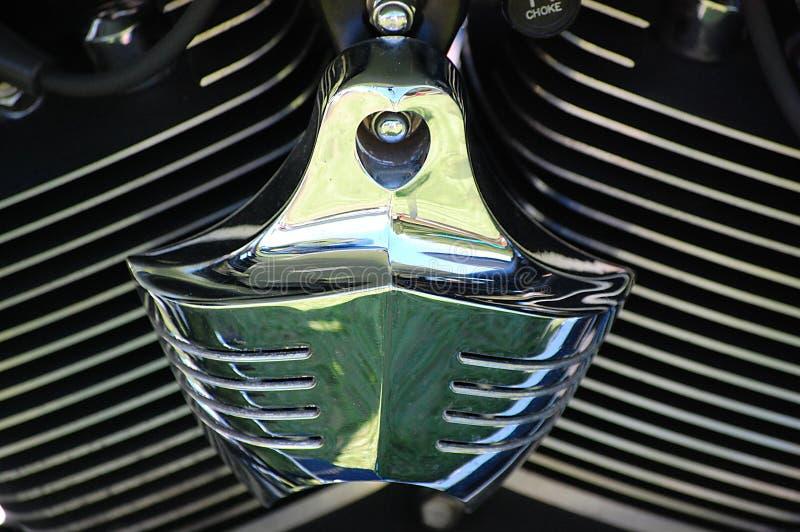 Depuratore di aria del davidson di Harley immagine stock