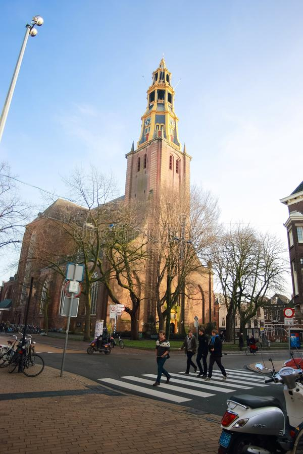 Der Aakerk教会 免版税库存图片