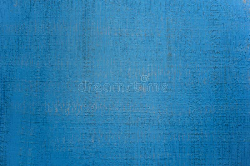Der abstrakten blauer Hintergrund Gips-Wand der Weinlese mit dunklen Streifen lizenzfreies stockfoto